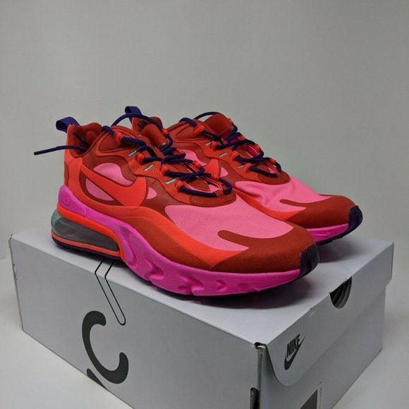 Nike Shoes Mens Air Max 270 React Mystic Red Size 95 Poshmark
